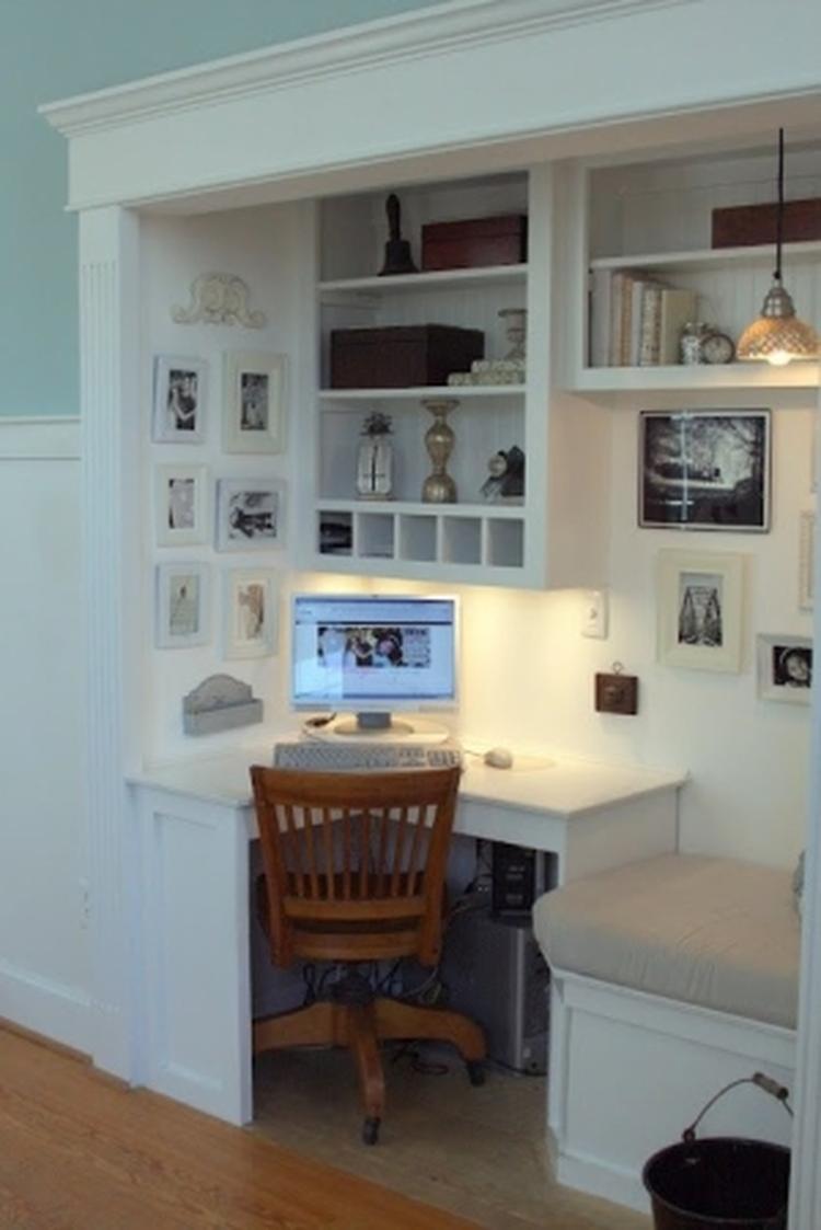 Mooi Ingebouwd Bureau Foto Geplaatst Door Bloemetje234 Op