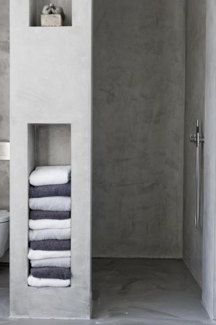 laguzzo waterdichte afwerking in badkamer. Foto geplaatst door ...