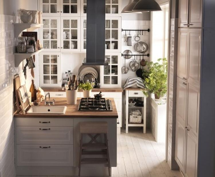 Een kookeiland in een kleine keuken op 7m2. foto: ikea. foto ...