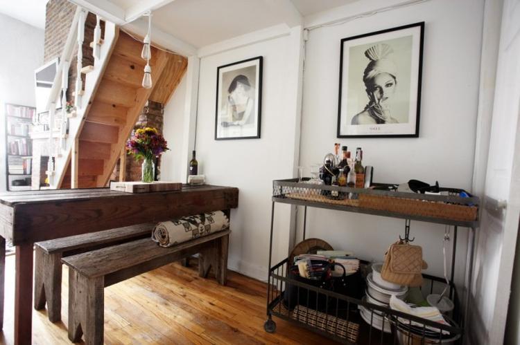 Keuken Met Roltafel : Mooie vintage roltafel voor in de keuken foto geplaatst door
