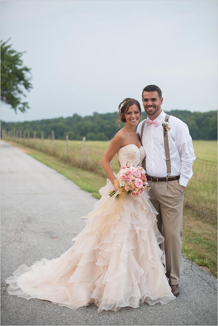 De Mooiste Gekleurde Bruidsjurken Een Trouwjurk Hoeft