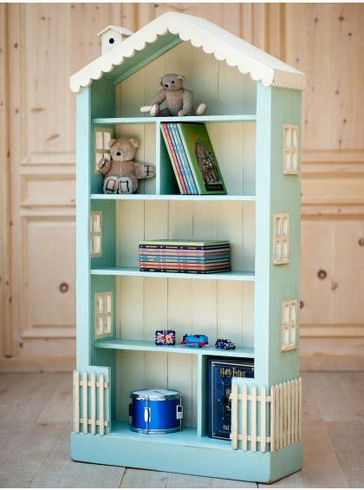 populair maak van een boekenkast een poppenhuis foto geplaatst door qq84