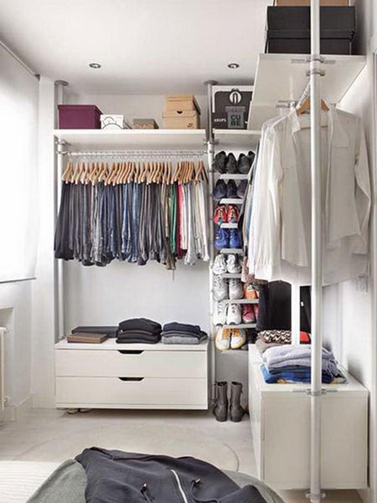Garderobekast Stolmen Ikea.Mooi Voorbeeld Van Ikea Stolmen Inloopkast Foto Geplaatst Door