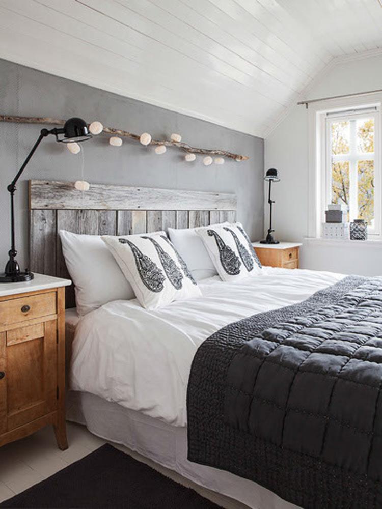 Slaapkamer: wit/grijs/zwart/hout combi.. Foto geplaatst door Tiara ...