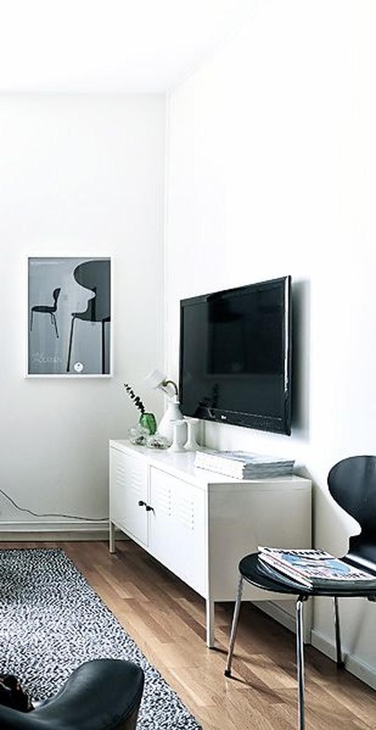 Tv Kast Ikea.Locker Ps Kast Ikea Gebruiken Als Tv Meubel Foto Geplaatst Door