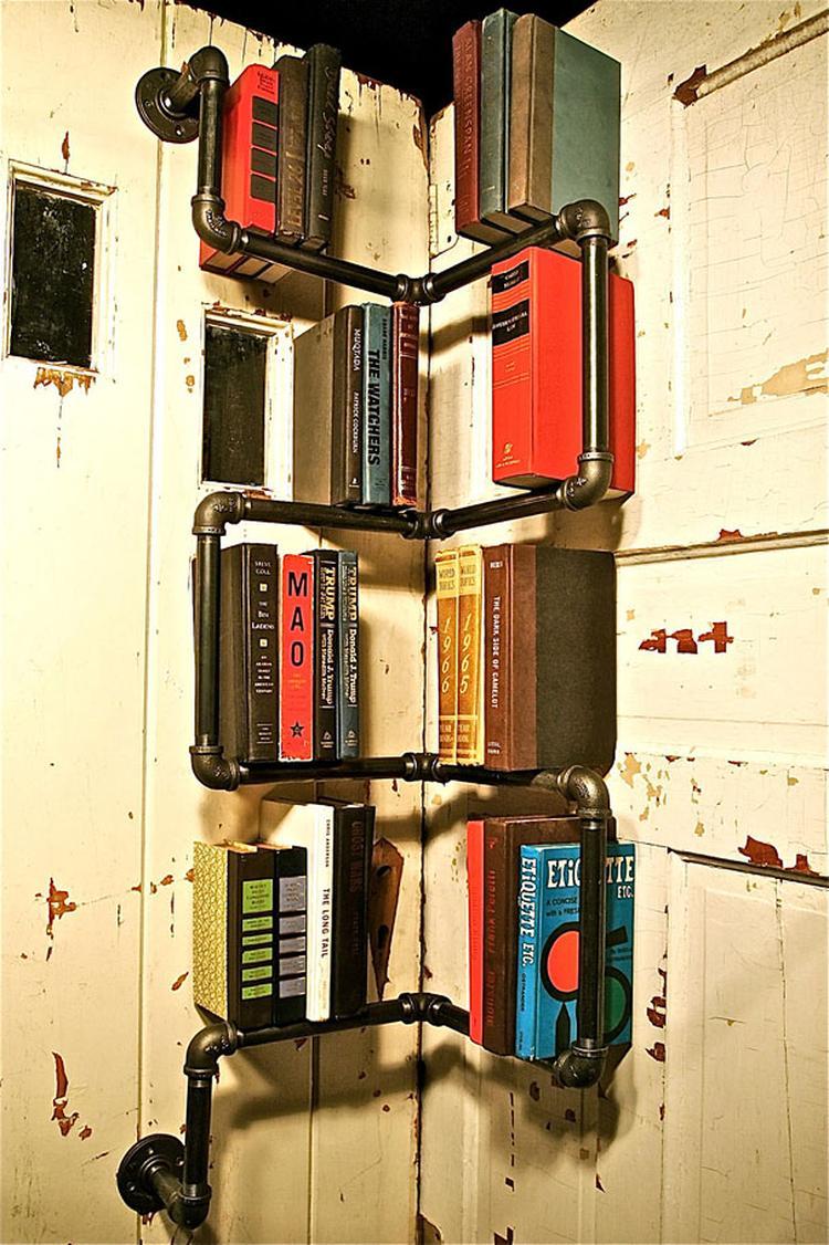 Orginele En Stoere Boekenkast Foto Geplaatst Door
