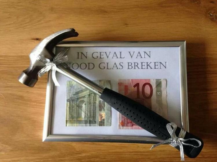 Originele Manier Om Iemand Geld Cadeau Re Geven Foto