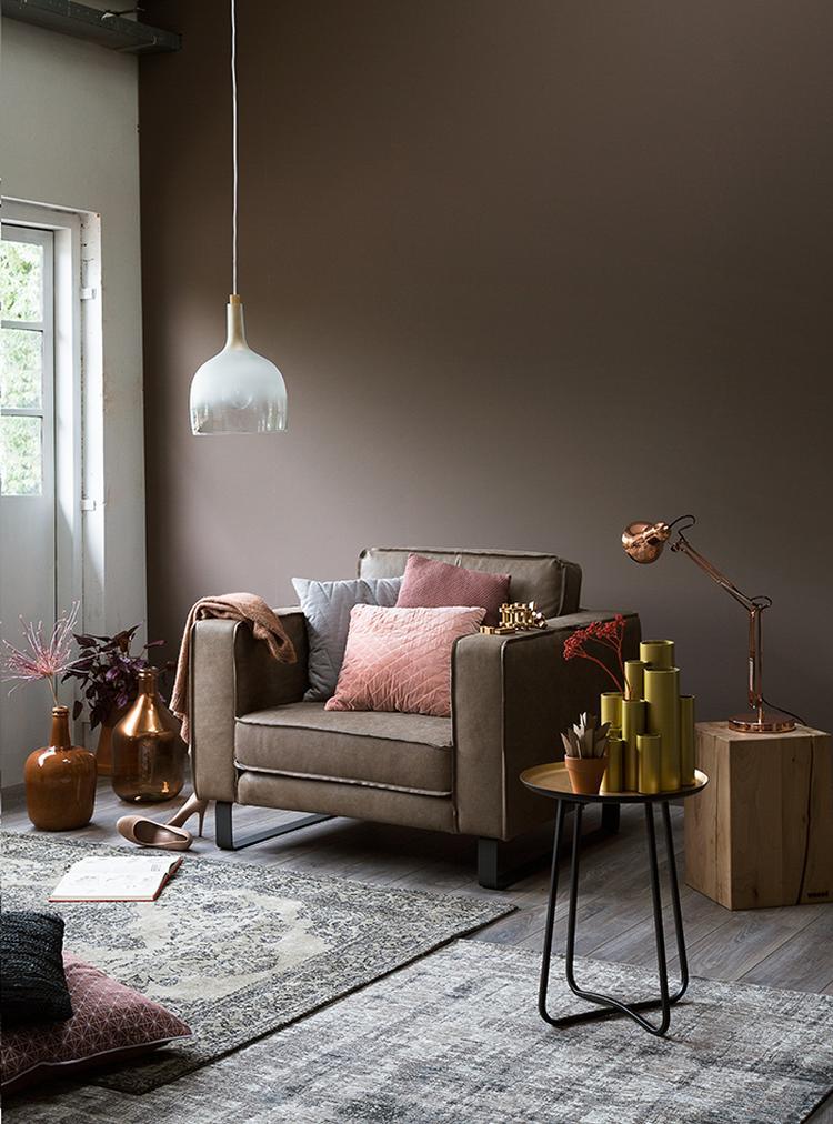 KARWEI   De combinatie van grijs en taupe geeft een luxe uitstraling ...