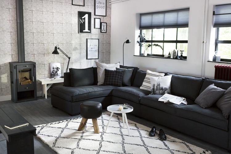 Donkere Woonkamer Inrichten : Witte woonkamer ideeen cheap witte in een moderne woonkamer with