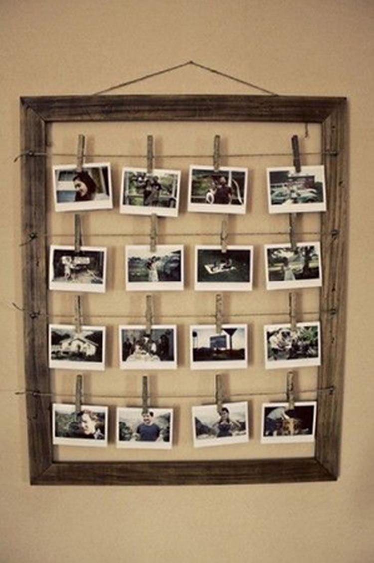 Grote Houten Fotolijst.Een Grote Fotolijst Kan Heel Mooi Als Decoratie Gebruikt Worden Door
