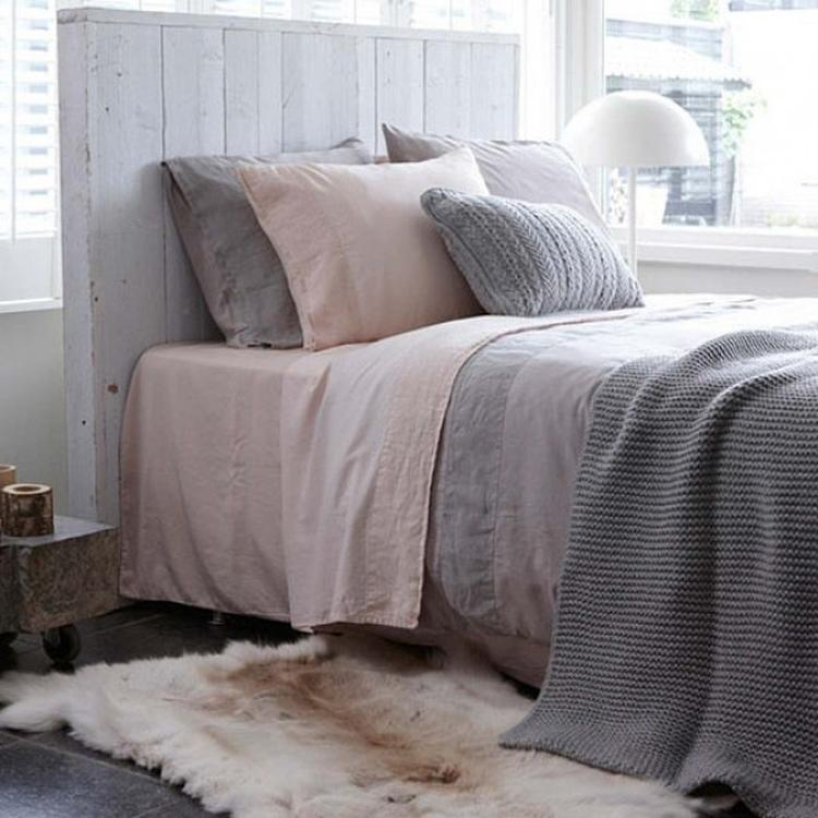 Natuurlijke slaapkamer met rustige tinten, Como Blossom ...