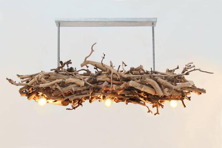 Takken Lamp decoratie. Webshop Decoratietakken Knoops. Foto ...
