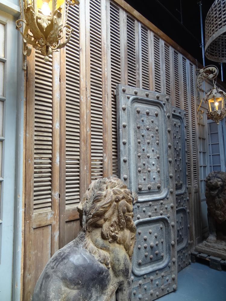 New Karakteristieke antieke louvre luiken, shutters bij Empire BV @SM17