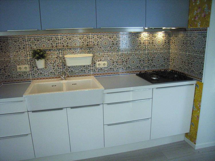 Mooie marokkaanse tegels voor mooie keuken. foto geplaatst door ...