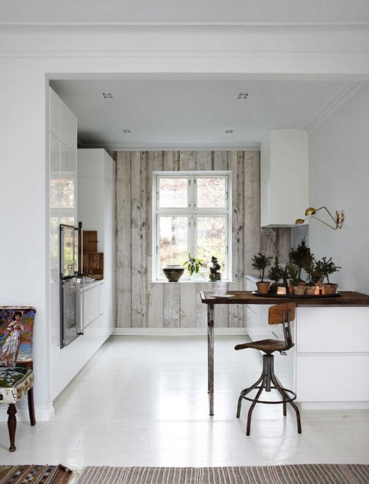 Prachtig fotobehang met steigerhout. Maakt je moderne of landelijke ...