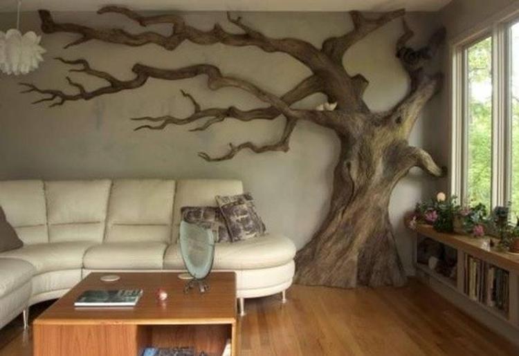geweldig zo\'n boom in de woonkamer. Foto geplaatst door taraluna op ...