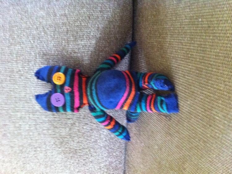 Genoeg Leuke knuffels maken van sokken.. Foto geplaatst door Mellybean op @ID24
