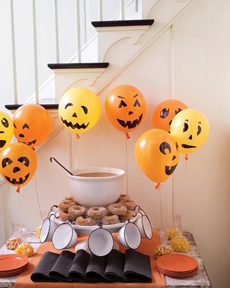 Waxinelichthouder Halloween.Snelle En Simpele Halloween Decoratie Met Ballonnen En Stift