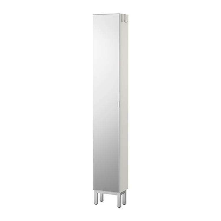 Ikea Kast Lillangen 30 X 21 X 194 Met Spiegel Voor De Hal Of