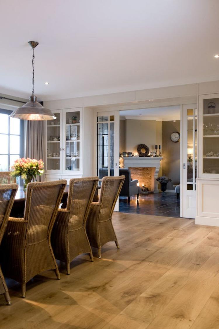 overgang keuken naar woonkamer. Foto geplaatst door maha op Welke.nl