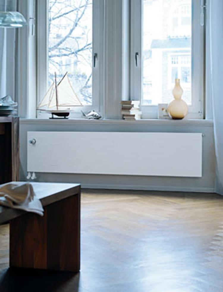 Appartement met radiator Radiapaneel van Zehnder . Deze prachtige ...