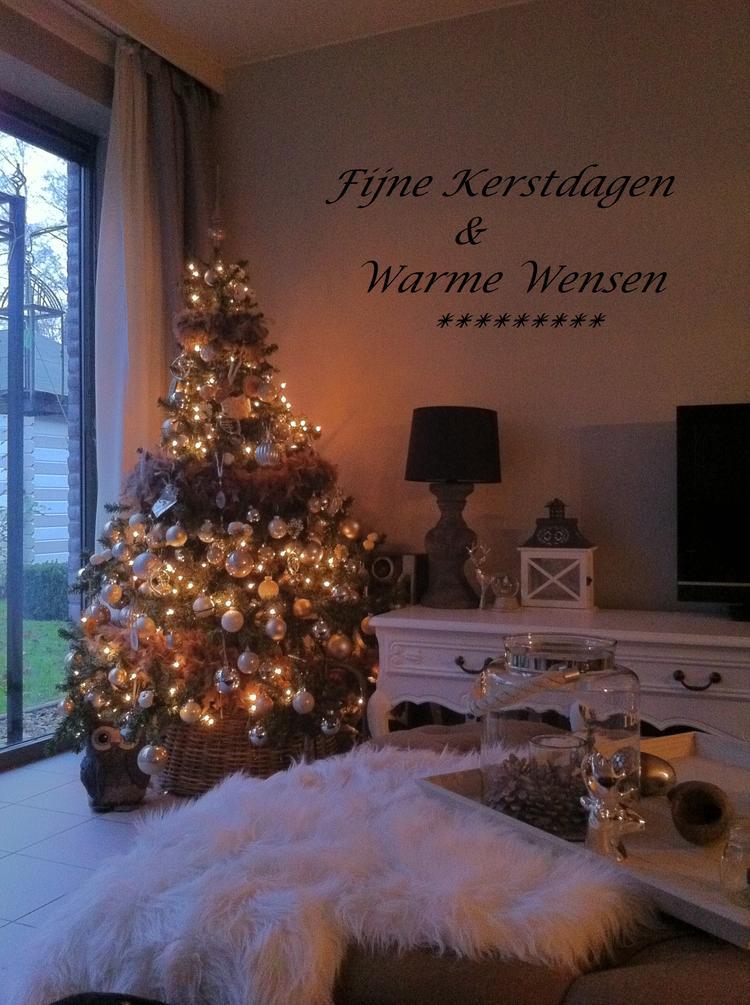Gezellige Amp Warme Landelijke Kerst Foto Geplaatst Door