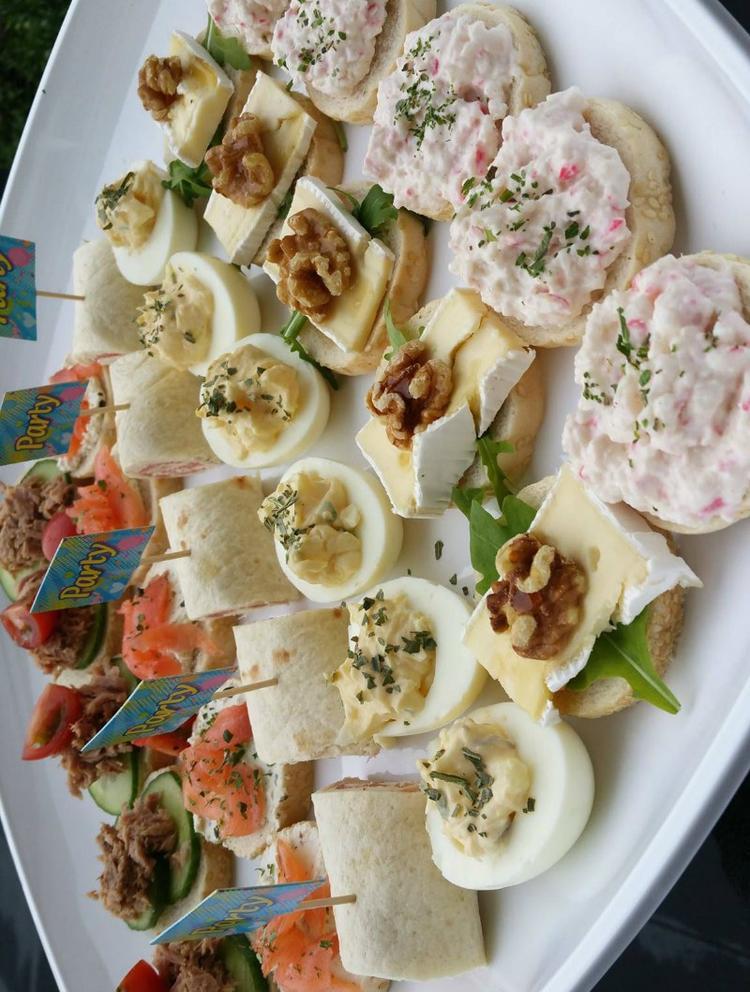 Bekend Recepten voor 6 verschillende makkelijke party hapjes / toastjes  #OS15