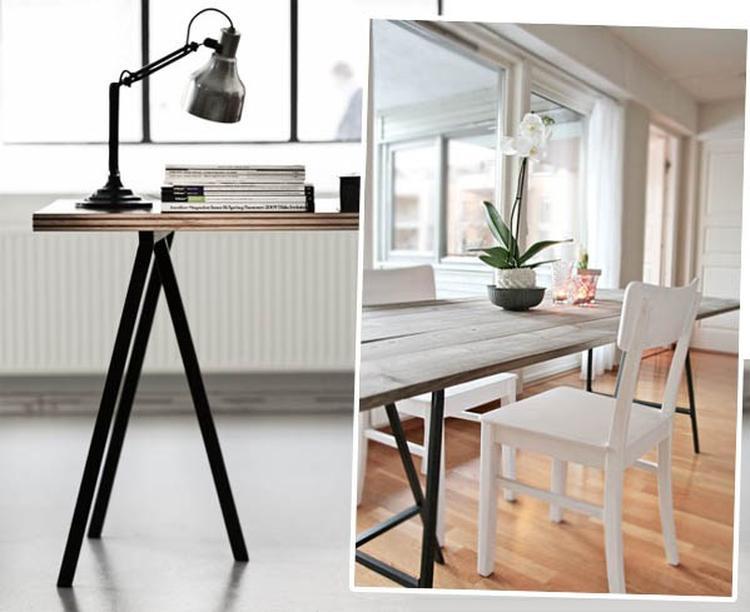 Ikea bureau wit roze ≥ ikea stuva bank bureau wit en mammut