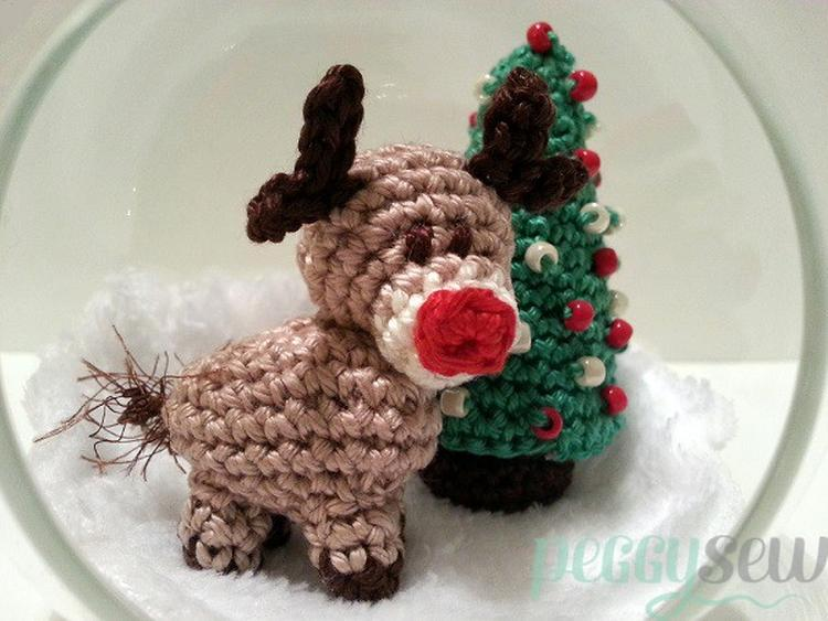 Superleuke Kerst Diy Om Zelf Te Haken Nl Patroon Van Rudolf En Een