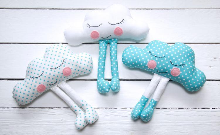 Babykamer Miami Kinderkamer : Leuke wolkjes om zelf te maken voor op de babykamer of kinderkamer