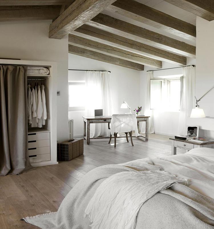 houten vloer in de slaapkamer. . foto geplaatst door rvg op, Meubels Ideeën
