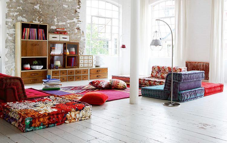 free bohemian living room roche bobois mah jong modular sofa with roche bobois mah jong with. Black Bedroom Furniture Sets. Home Design Ideas