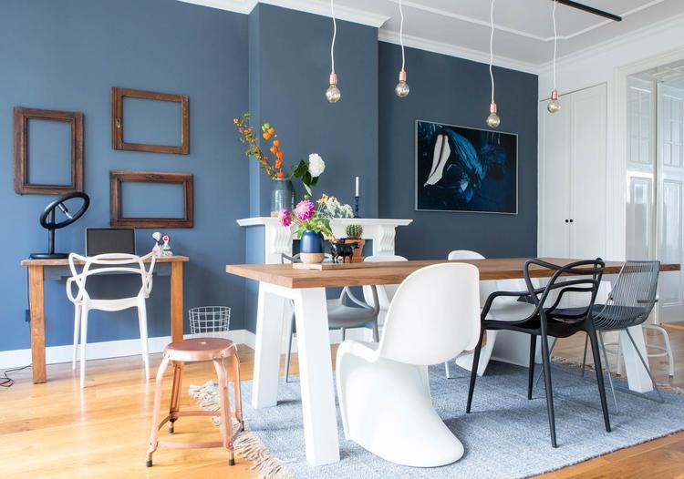 Mooie kleur voor de woonkamer. Foto geplaatst door ideG84 op Welke.nl