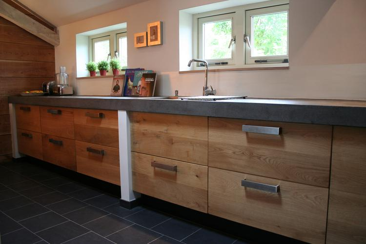 Eiken keukendeuren voor ikea kasten Koak Design. Eiken deuren en ...