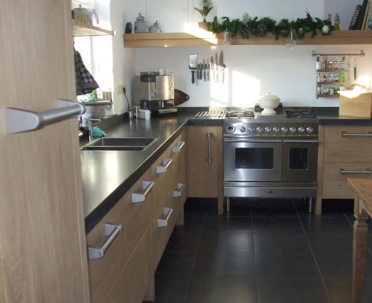 Eiken Keuken Ikea Eiken Keuken Voor Ikea Kasten Foto