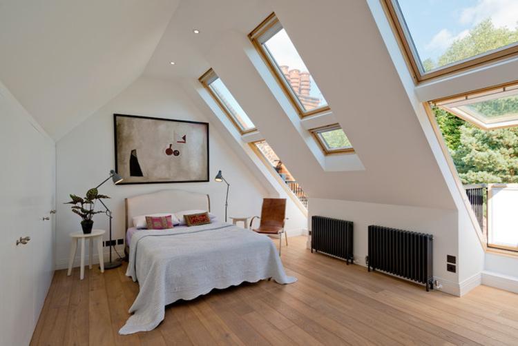 Slaapkamer Houten Vloer : Eiken houten vloer in je slaapkamer neem onze cm brede eiken