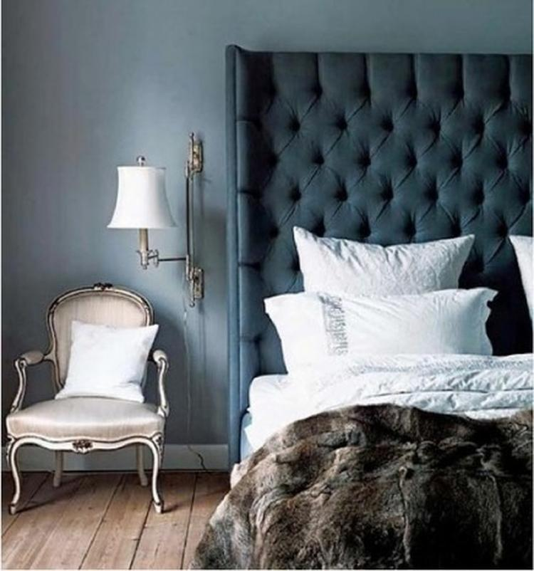 Donkere kleuren voor je slaapkamer, knus.. Foto geplaatst door ...