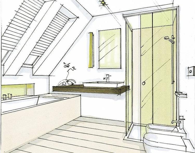 indeling badkamer schuin dak. Foto geplaatst door wilhelminastrid op ...