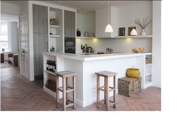 Visgraat Vloer Keuken : Prachtig mooie keuken. ik word hier heel blij van ! mooie