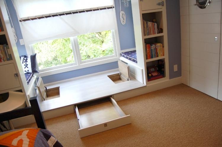 Spiksplinternieuw Kinderkamer met bankje bij het raam. . Foto geplaatst door kh2011 ZU-72