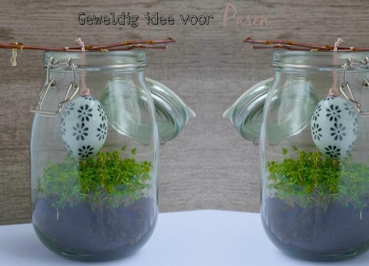 Geweldig idee voor pasen diy decoratie simpel idee voor pasen