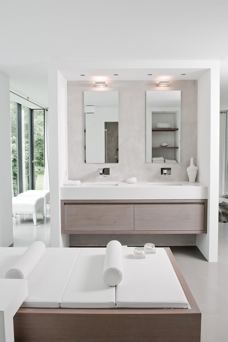 badkamer ontwerpen en gemaakt door piet-jan van den kommer.. foto, Badkamer