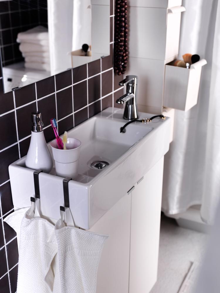 Ondiepe Wastafel Voor De Kleine Badkamer De Kleine Badkamer
