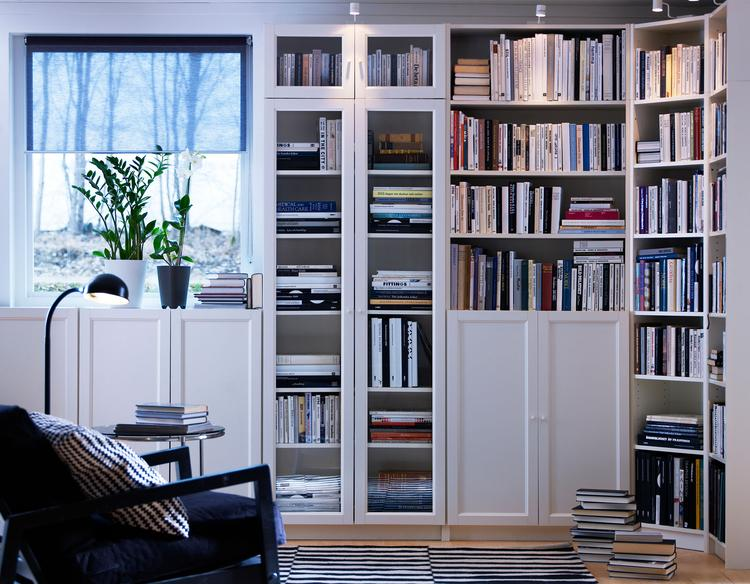 Billy boekenkast tot aan het plafond. Door je boekenkasten helemaal ...