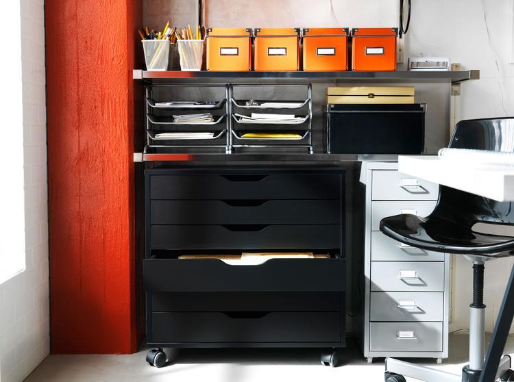 Ikea ladenkast wielen lote ladekast met lades ikeacatalogus nieuw