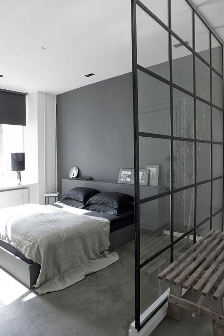 stoere vloer in beton/marmerlook, staat ook mooi in de slaapkamer ...