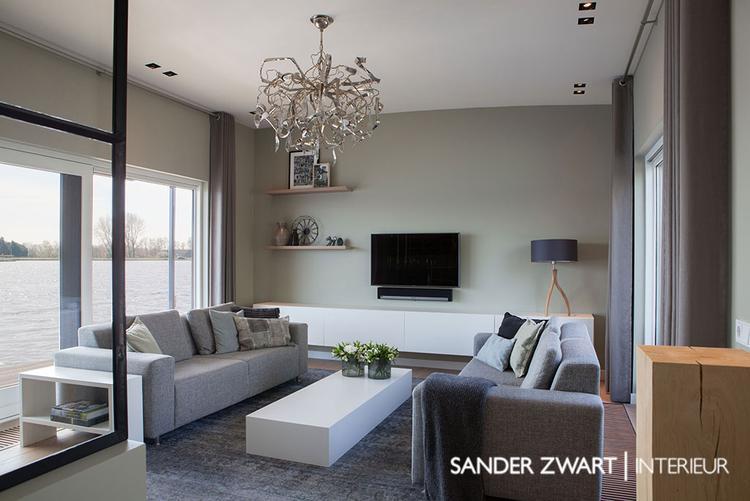 Interieur woonkamer woonark Haarlem - by Sander Zwart | Interieur ...