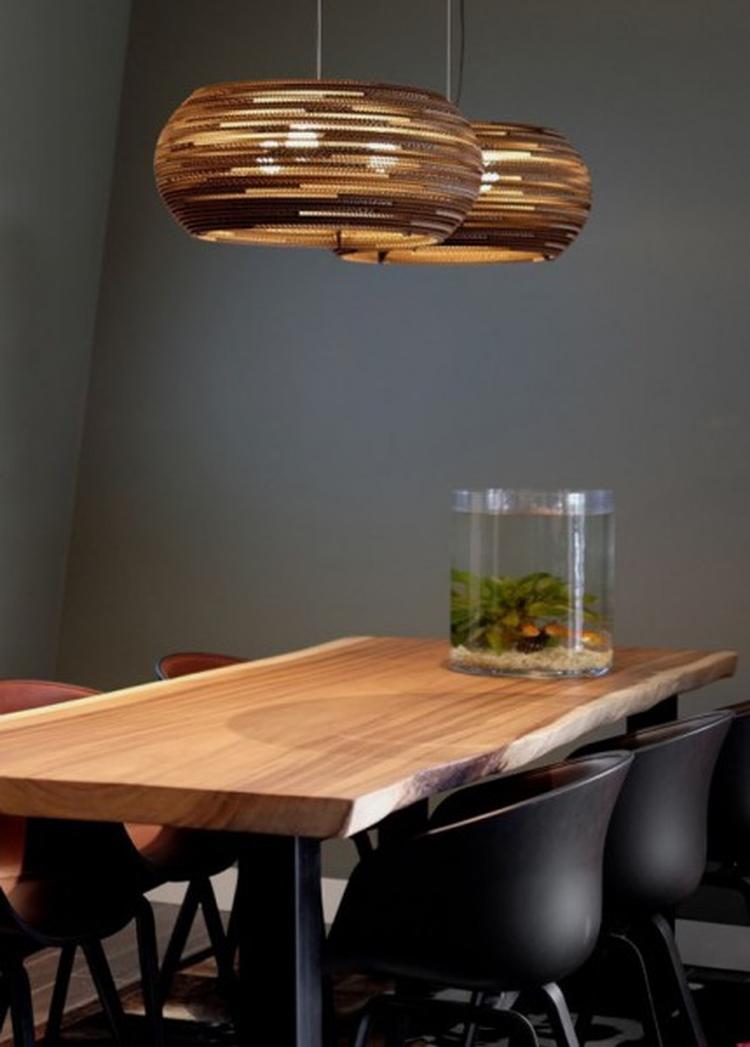 Uitzonderlijk hanglamp eettafel hout em75 belbin info for Hanglamp eettafel