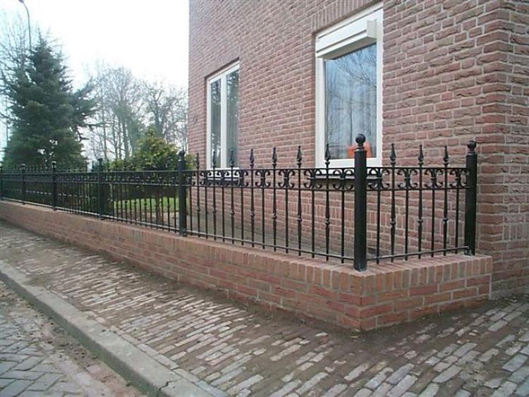 Stenen Muur Voortuin : Voortuin hek beautiful goedkope ijzer tuin hekwerk op de verkoop
