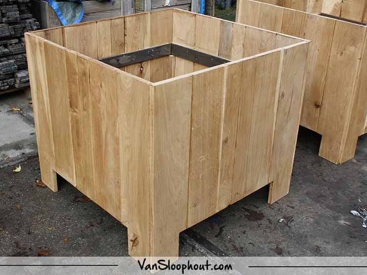houten plantenbak intratuin nicolewaasdorp